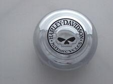 Harley Davidson Skull Totenkopf Hupe Hupenabdeckung Chrom Horn Cover rund