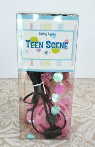 Vintage 90's Y2K Teen Scene Pink Chandelier String Lights Bedroom Decor YM NEW