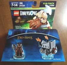 LEGO DIMENSIONS FUN PACK THE LORD OF THE RINGS GIMLI 71220 - NEW