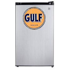 Gulf Dealer Kitchen Decal Sticker Refrigerator Dorm Fridge Retro Freezer Vehicle