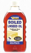 Bouillie huile de lin bois traditionnelle traitement Indoor & Outdoor 500 ml jamais construire