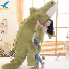 GIANT 3M BIG CROCODILE PLUSH STUFFED ANIMAL SOFT TOYS HUGE CUSHION PILLOW GIFT