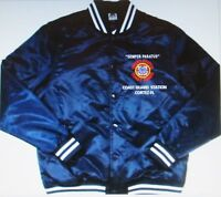 COAST GUARD STATION* CORTEZ-FL * EMBROIDERED 1-SIDED SATIN JACKET