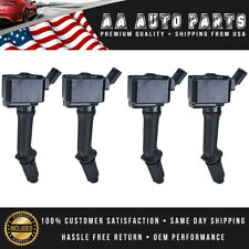 Pack of 4 Ignition Coils For Turbocharged Chevrolet Malibu, Cruze,  Buick Encore