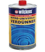 Wilckens Nitro Universal Verdünner 1 l Lösemittel Verdünner Lacke Farben