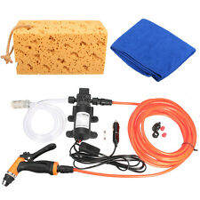 Car Wash Water Washdown Pump Kit 100PSI High Pressure Washer Caravan Boat 12V
