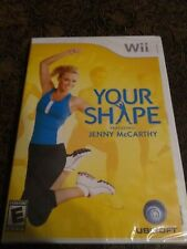Nintendo Wii Your Shape Jenny McCarthy Game NEW SEALED!!