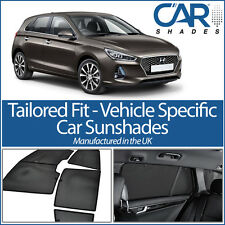 Hyundai i30 5dr 2016 On UV CAR SHADES WINDOW SUN BLINDS PRIVACY GLASS TINT SPORT
