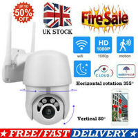 1080P WIFI IP Camera WHITE Wireless Outdoor CCTV HD Home Security IR Cam PTZ 2MP