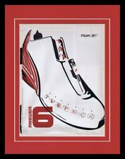 2003 Reebok Iverson Answer 6 Shoes 11x14 Framed ORIGINAL Vintage Advertisement