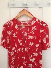 Zara Maxi Dress, Red & White, BNWT, Size XS