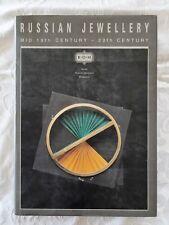 Russian Jewellery Mid 19th Century - 20th Century by Alexei Karpun - HC/DJ