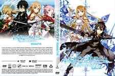 DVD SWORD ART ONLINE SEASON 1 - 2 COMPLETE BOXSET - ENGLISH VERSION & SUBTITLE