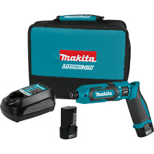 Makita TD022DSE-R 7.2V Lithium‑Ion Cordless Impact Driver Kit (Reconditioned)
