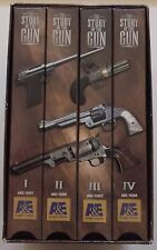 THE STORY OF THE GUN Complete History of Firearms VHS tape set A & E Home Video