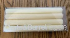 "Crate and Barrel 8"" Taper Candles Set of 8 Decorative"