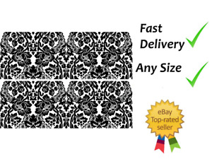 Black lace Edible Cake Bands Ribbon Cake side strips Icing or Wafer