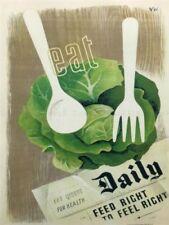 Green Vintage Art