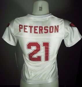 Arizona Cardinals Patrick Peterson Official Girls Kids Youth NFL Team Jersey New
