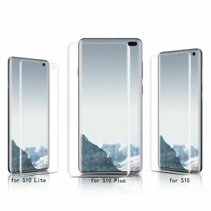 Full Coverage TPU Film Screen Protector for Samsung Galaxy S10 S10 Plus S10 Lite