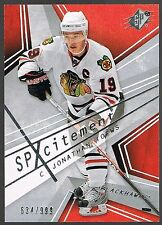 08/09 UD SPX SPXCITEMENT LOT #D999 (14) TOEWS SITTLER HOWE FUHR STAAL M.S.LOUIS