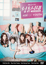 Age of Youth Korean Drama (3DVDs) Excellent English & Quality!
