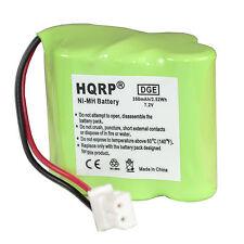 HQRP Batería para transmisor GP 30AAAM6WML, Dt-Systems EDT 200 / EDT 300