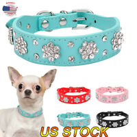 Bling Mutli-Colors Dog Cat Puppy Bowknot Rhinestone Pets Flower Bowknot Collar