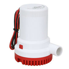2000GPH Marine Water Bilge Pump Submersible Yacht Boat 12V Caravan Fishing E5Q3