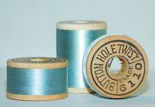 Vintage Thread Spools Belding Corticelli TWIST- Silk Thread Blue NOS