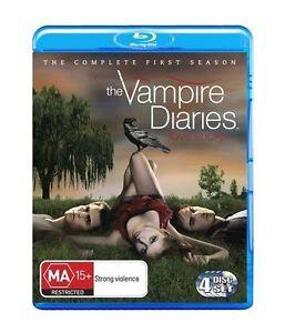 Vampire Diaries : Season 1 (Blu-ray, 2010, 5-Disc Set)  DS177  BRAND NEW