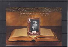 Gibraltar 2012 MNH Charles Dickens Birth Bicentenary 1v Sheet John Huffam Anniv