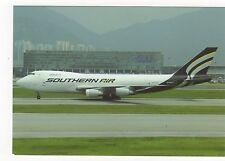 Southern Air Boeing B747-281F at Hong Kong Aviation Postcard, A703