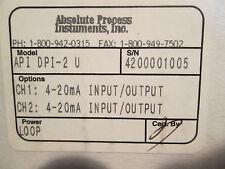 Absolute Process Instrument Loop Isolator API DPI-2 New Surplus