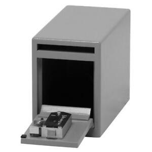 SentrySafe Drop Slot Safe Anti-Pry Door Under Counter Dual Key Lock Solid Steel