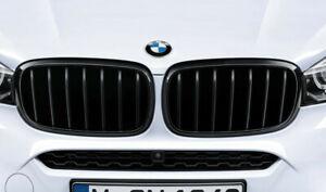 Original BMW M Performance X5 F15 X6 F16 Parrilla Delantera Parrillas Negro Kit