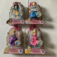 Disney Princess Mini Figure Set Cinderella Aurora Rapunzel Pocahontas