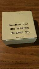 NOS genuine Nec print thimble for NEC impact printers. Font Elite 12 british