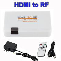 Universal Analog Conversion Digital TV Box HDMI To RF Adapter Converter