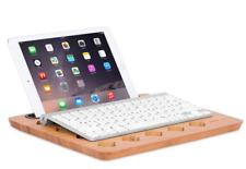 Sofia + Sam Bamboo Laptop Lap Desk Board | Multi Tasking Bed Tray Board | Vent