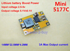 DC 3V 3.3V 3.7V to 5V 3A max Lithium Booster Charge Power Board Battery Charger