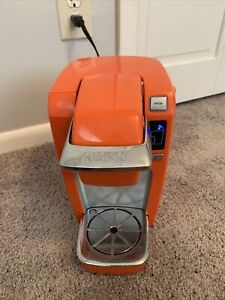 Keurig Orange Mini Single Serve Single Cup Coffee Maker Model B31