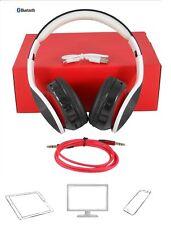 Bluetooth Stereo Headset Smartphone FM-Radio MicroSD AUX In Wireless Freisprech