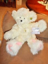 Bear Annette Funicello Collectible Teddy Co Plush Necklace White Bunny Slippers