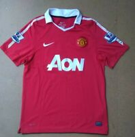 M NIKE DRI-FIT MANCHESTER UNITED OFFICIAL WAYNE ROONEY 10 RED POLO SHIRT JERSEY