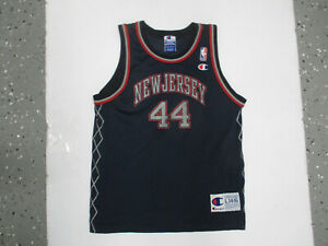 VINTAGE CHAMPION NEW JERSEY NETS KEITH VAN HORN #44 YOUTH LARGE JERSEY BROOKLYN