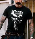 Harley Davidson T Shirt Skull Art Motorcycle Biker Short Sleeve Men Gift Tee