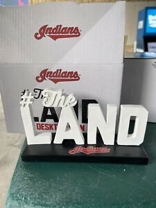 Cleveland Indians #The Land Desk Sign Stadium Giveaway 2021 - New In Box