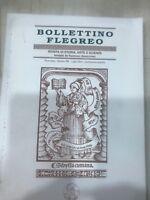 BOLLETTINO FLEGREO N°15  RIVISTA DI STORIA,ARTE E SCIENZE FONDATA DA R. ANNICCHI