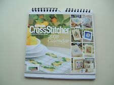 BRAND NEW CROSS STITCHER CALENDAR 2008 – 12 CHARTS